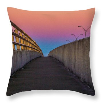 Throw Pillow featuring the photograph Where Too by Tyson Kinnison