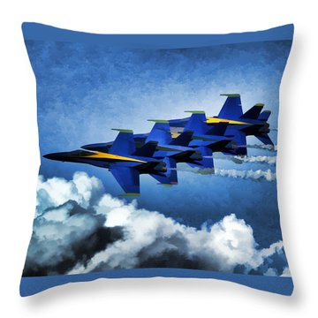 Throw Pillow featuring the photograph Where You Lead by John Freidenberg