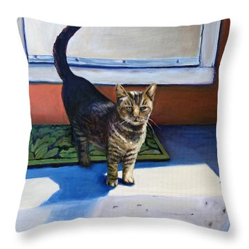 Where's Breakfast? Throw Pillow
