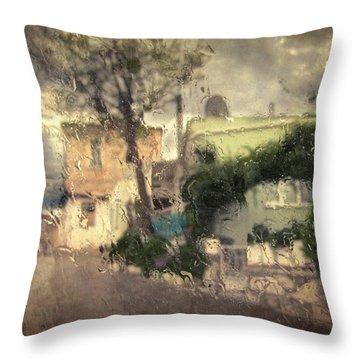 Wherever I Go Throw Pillow by Taylan Apukovska
