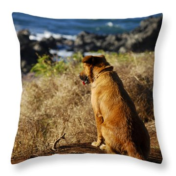 Wherever You Go Let Me Go Too Throw Pillow