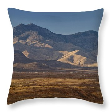 Whetstones At Sunset Throw Pillow by Beverly Parks