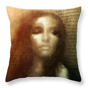 Which Is My Fate Throw Pillow by Gun Legler