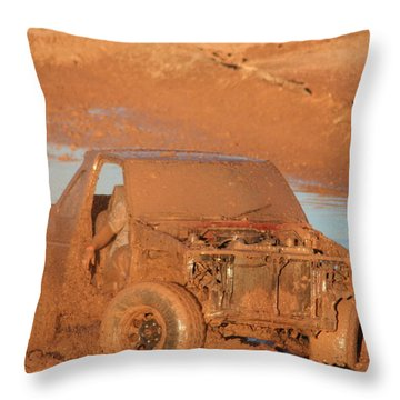 Which Way Throw Pillow