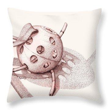 Whiffle Ball  Throw Pillow