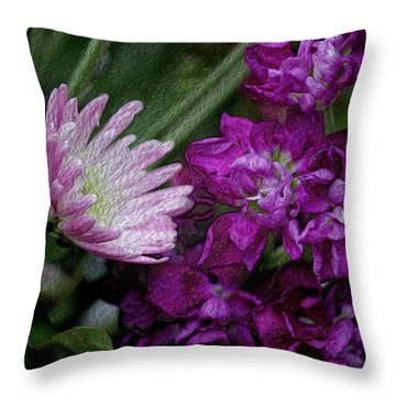 Whimsical Passion Throw Pillow