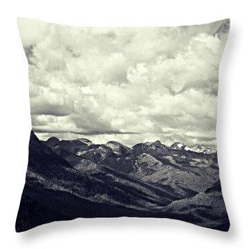 Whipped Cream Throw Pillow by Leanna Lomanski