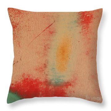 Whirling Dervish Abstract Square Throw Pillow