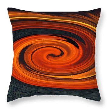 Whirlpool Throw Pillow by Aimee L Maher Photography and Art Visit ALMGallerydotcom