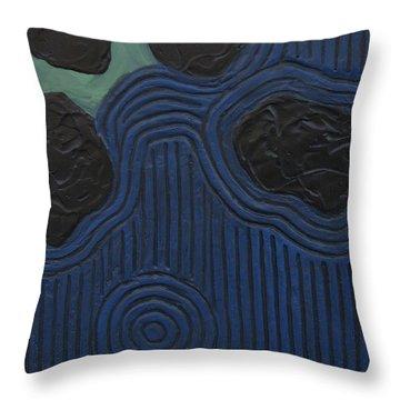 Whirlpool Throw Pillow
