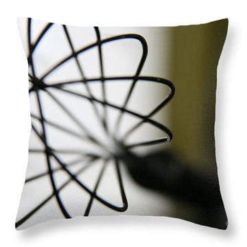 Whisk Throw Pillow by Lynn England