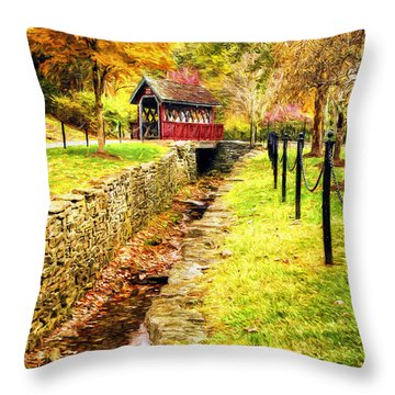 Whisky Creek Throw Pillow