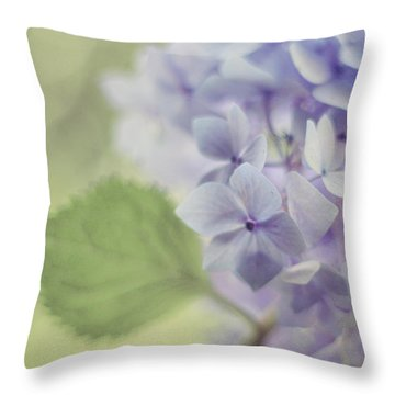 Whisper Throw Pillow by Amy Tyler