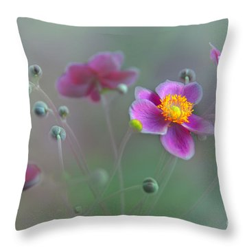 Whisper Throw Pillow by Elaine Manley