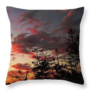 Whisper Of Evening Throw Pillow