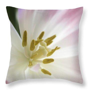 Whisper Of Spring Throw Pillow by Arlene Carmel