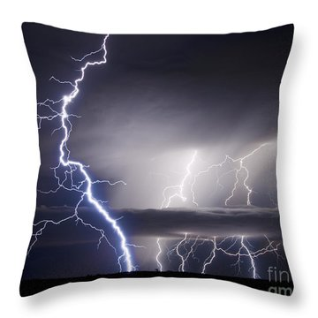 Whisper To The Thunder Throw Pillow