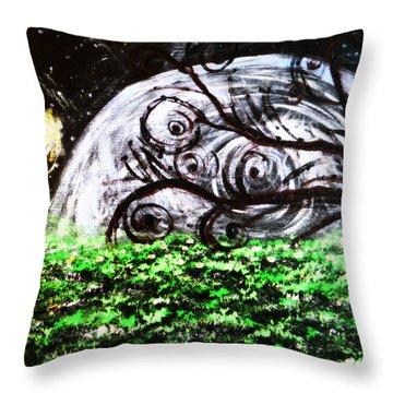 Whispering Fairytales Throw Pillow