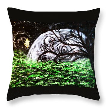 Whispering Fairytales Throw Pillow by Sherry Flaker