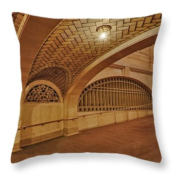 Whispering Gallery Throw Pillow by Susan Candelario
