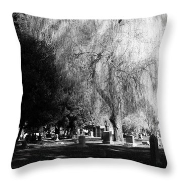 Whispering In The Wind... Throw Pillow