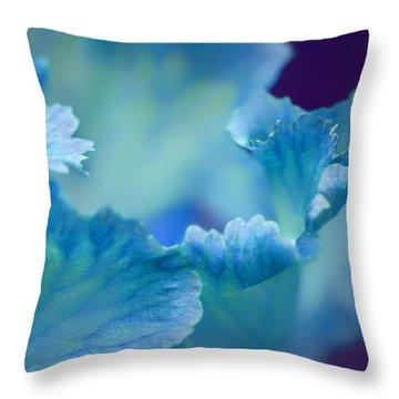 Whispering Throw Pillow by Nikolyn McDonald