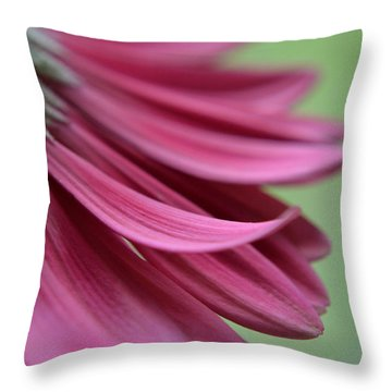 Whispering Petals Throw Pillow by Melanie Moraga