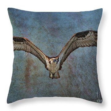 Whispering To The Moon Throw Pillow