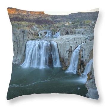 Whispers Of Shoshone Throw Pillow