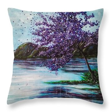 Whispers Of Wishes Throw Pillow