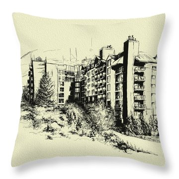 Whistler Art 007 Throw Pillow by Catf