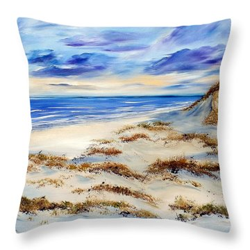 Whistling Winds Throw Pillow