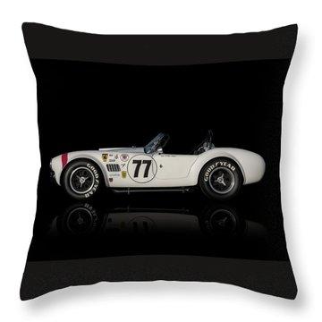 White Cobra Throw Pillow by Douglas Pittman