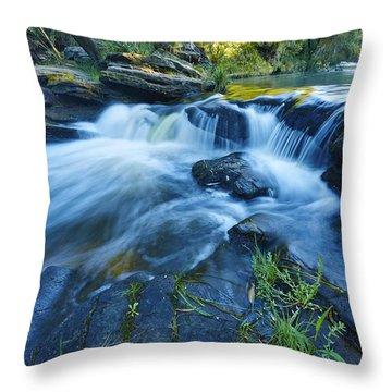 White Veil Throw Pillow