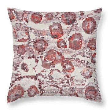 White Throw Pillow by Darice Machel McGuire