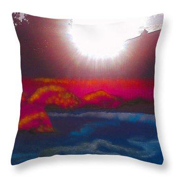 White Dwarf Throw Pillow