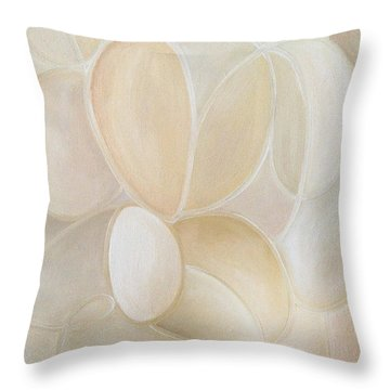 White On Throw Pillow