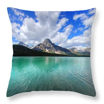 Throw Pillow featuring the photograph White Pyramid by David Andersen