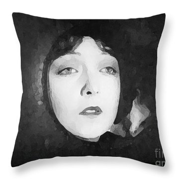 White Sister Throw Pillow