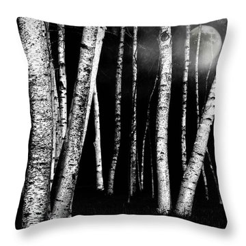 White Walls Throw Pillow by Diana Angstadt
