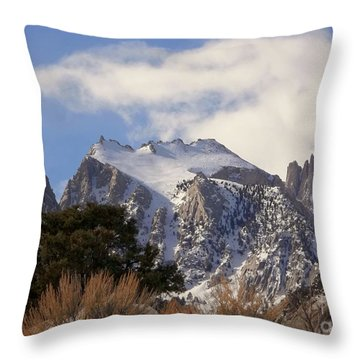 Whitney Portal - California Throw Pillow by Glenn McCarthy Art and Photography