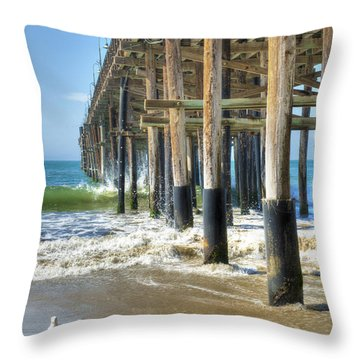 Who Are You Looking At Throw Pillow by David Zanzinger