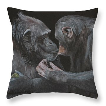 Who Gives A Fig? Throw Pillow by Jill Parry