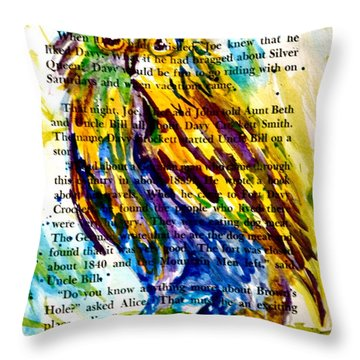 Who Is That Throw Pillow