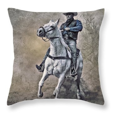 Throw Pillow featuring the photograph Whoa Silver by Brian Tarr