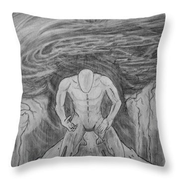 Whom Shall I Fear Part 1 Throw Pillow by Justin Moore