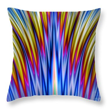 Whoosh Throw Pillow