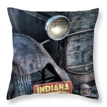 Who's Your State Throw Pillow