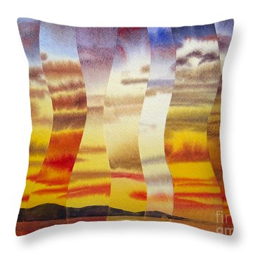 Why I Love You Throw Pillow by Jeni Bate