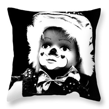 Why? Throw Pillow by Linsey Williams
